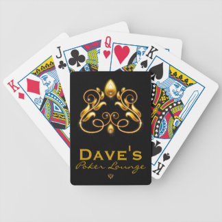 Scrolled Spade Bicycle Playing Cards