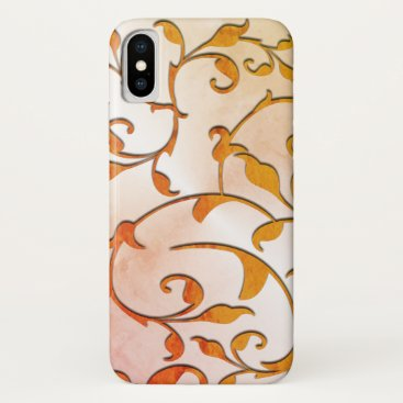 Scrolling Rusted Rod Iron iPhone X Case