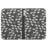 Scrolling Vine (charcoal) Kindle Case