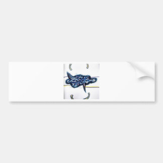 Scrolls Among the Form of Flux Bumper Sticker