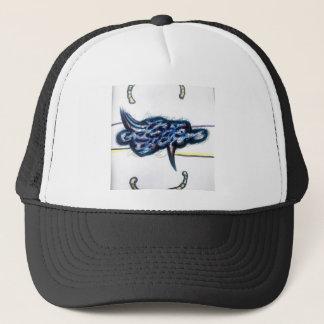 Scrolls Among the Form of Flux Trucker Hat