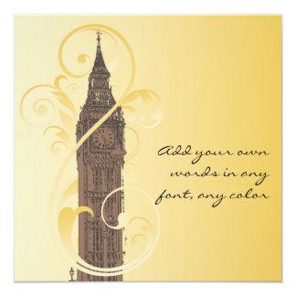 Scrolls and Big Ben Card
