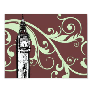 Scrolls and Big Ben - Green Card