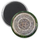 Scrollwork Pentacle Magnet
