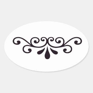Scrollwork Sticker