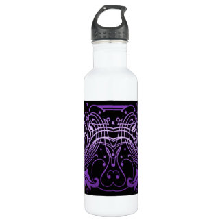 Scrollwork with leaves Liberty Bottle