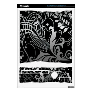 Scrollwork with leaves skins for the xbox 360 s