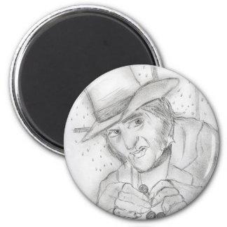 Scrooge-1 2 Inch Round Magnet
