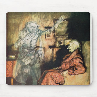 Scrooge and The Ghost of Marley Mouse Pads