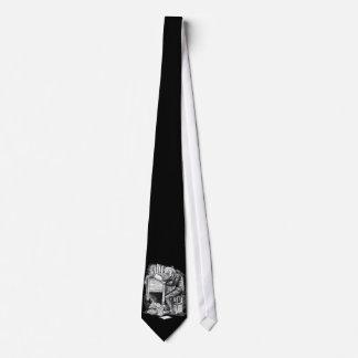 Scrooge at His Desk Neck Tie