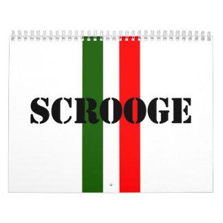 Scrooge Calendar