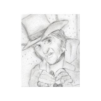 Scrooge Canvas Print