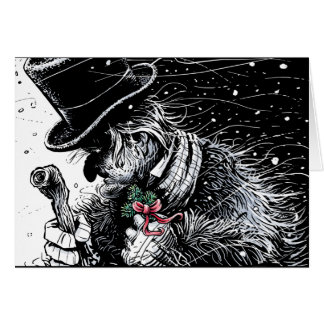 Scrooge Greeting Card