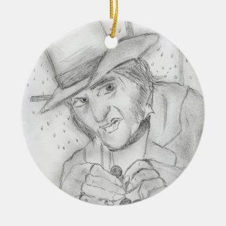Scrooge Ceramic Ornament