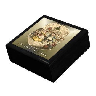 Scrooge del navidad - un villancico del navidad cajas de recuerdo