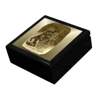 Scrooge del navidad - un villancico del navidad cajas de joyas
