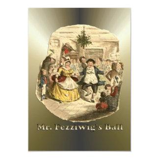 """Scrooge del navidad - un villancico del navidad invitación 5"""" x 7"""""""