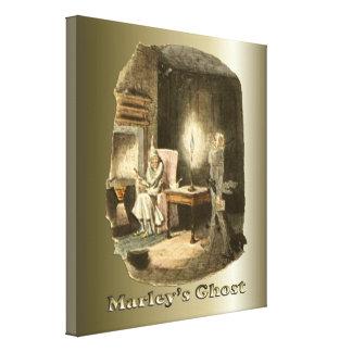 Scrooge del navidad - un villancico del navidad impresiones de lienzo