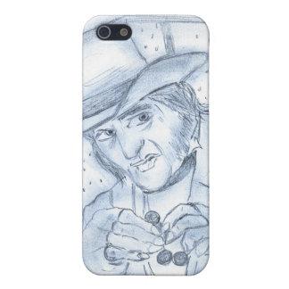 Scrooge en azul iPhone 5 funda