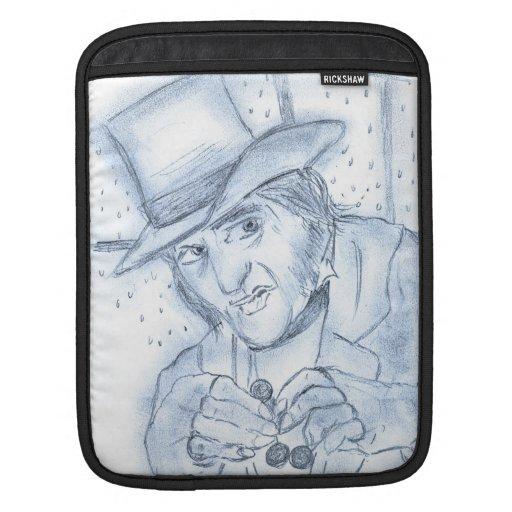 Scrooge en azul mangas de iPad
