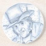 Scrooge en azul posavaso para bebida