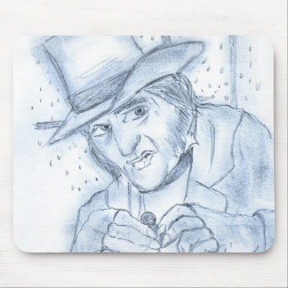 Scrooge en azul tapete de ratón