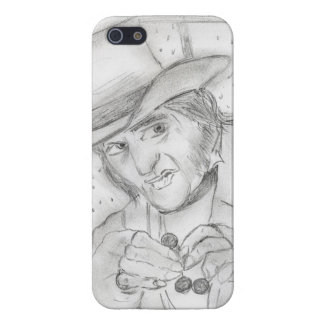 Scrooge en blanco y negro iPhone 5 carcasa