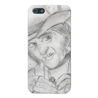 Scrooge en blanco y negro iPhone 5 funda