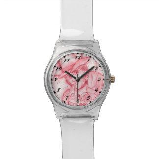 Scrooge en rojo relojes de mano