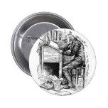 Scrooge en su escritorio pins