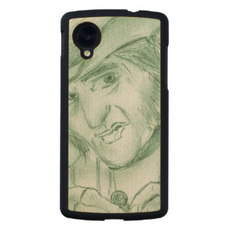 Scrooge en verde funda de nexus 5 carved® slim de arce