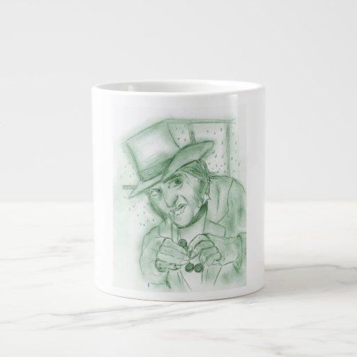 Scrooge en verde taza jumbo