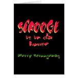 Scrooge está en casa de DA Felicitacion