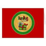 Scrooge Holiday - Bah Humbug card