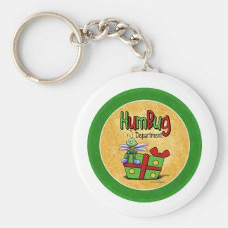 Scrooge Holiday - Bah Humbug Keychain