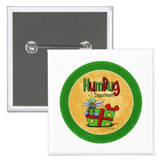 Scrooge Holiday - Bah Humbug Pinback Button