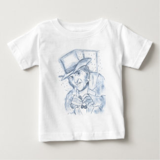 Scrooge in Blue Baby T-Shirt