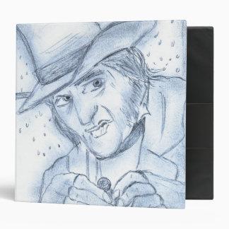 Scrooge in Blue Binder