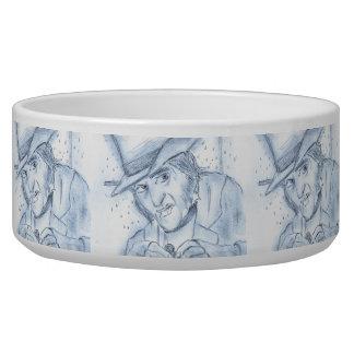 Scrooge in Blue Bowl