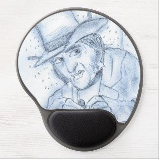 Scrooge in Blue Gel Mouse Pad