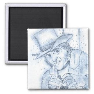 Scrooge in Blue Magnet