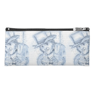 Scrooge in blue pencil case