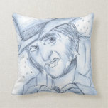 Scrooge in Blue Pillow