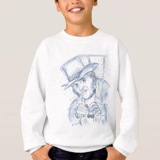 Scrooge in Blue Sweatshirt