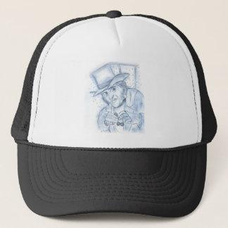 Scrooge in Blue Trucker Hat
