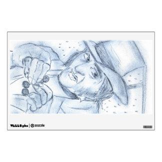 Scrooge in blueScrooge in Blue Wall Sticker