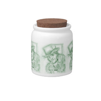 Scrooge in Green Candy Jar
