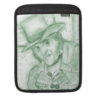 Scrooge in Green iPad Sleeve