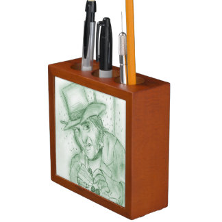 Scrooge in Green Pencil/Pen Holder