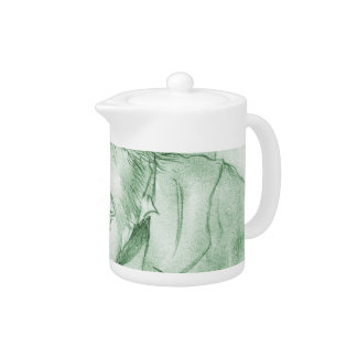 Scrooge in Green Teapot